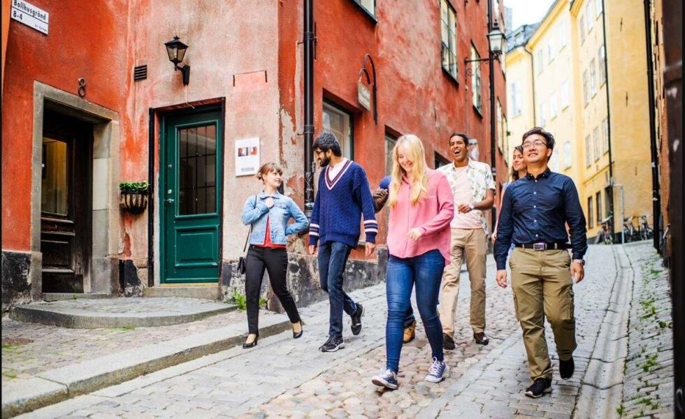 Travelers love Stockholm's Old Town