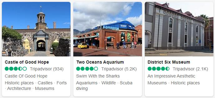 Cape Town Attractions 2