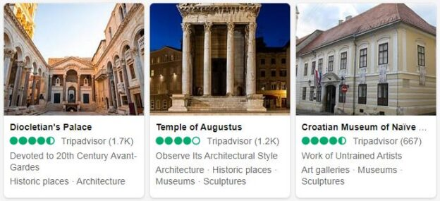 Croatia Attractions 2