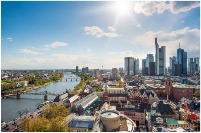 Frankfurt is also called Mainhattan